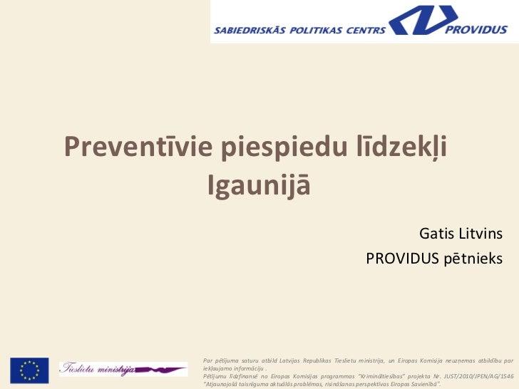 Preventīvie piespiedu līdzekļi           Igaunijā                                                                         ...