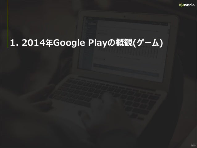 [IGAWorks] 2014年Google Play_Game_Category_IAP_Revenue_Ranking_and_Report(JPN) Slide 3