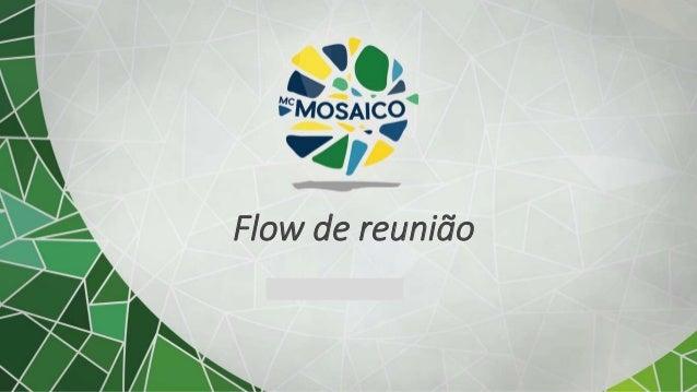 Subtítulo opcional Flow de reunião