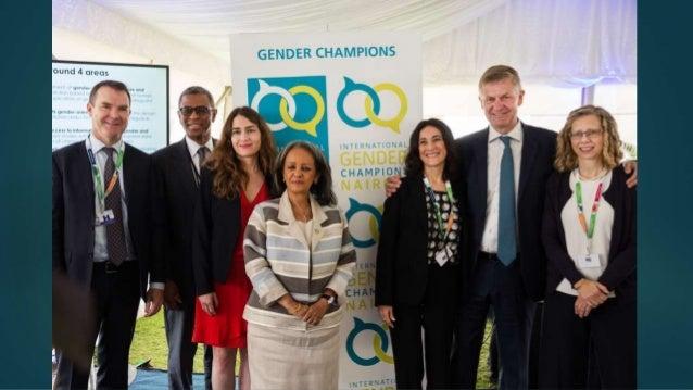 International Gender Champions soft launch in Nairobi - 5.12.2017 slideshare