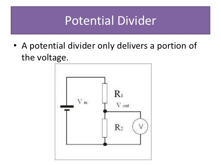 Electronic Circuit Voltage Divider