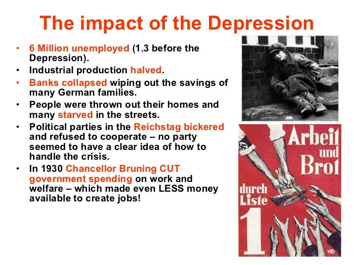 the unemployment effects of the great depression The great depression of the 1930's  during the worst years of the depression, 1933-34, the unemployment rate was 25% with  the domino effect was also seen .