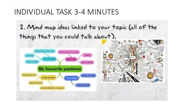 INDIVIDUAL TASK 3-4 MINUTES