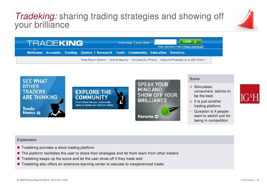 Tradeking forex platform