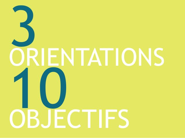 ORIENTATIONS OBJECTIFS