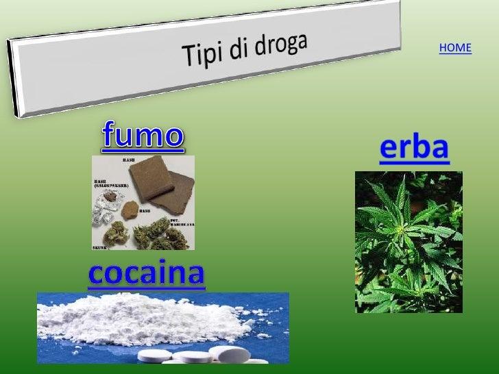 I giovani e la droga - I diversi tipi di droga ...