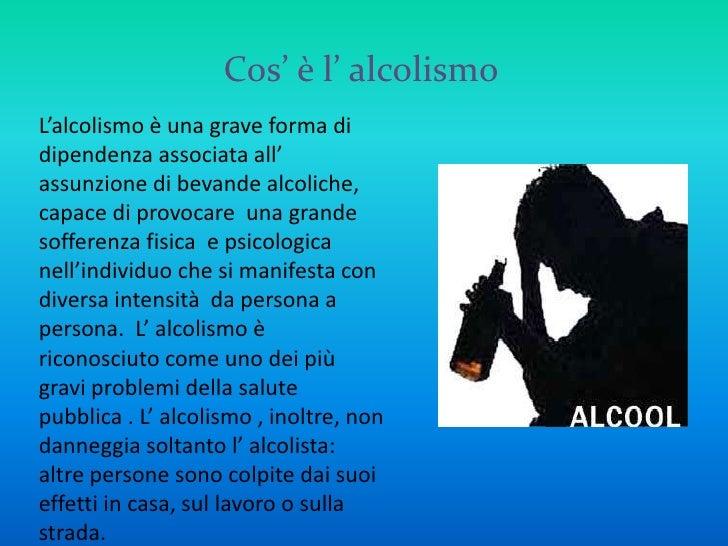 Lalcolismo cala senza danno