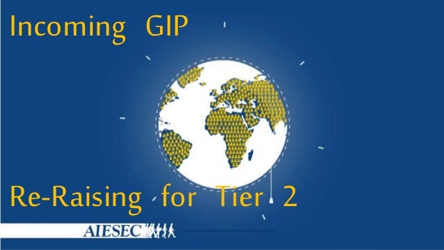 Incoming GIP Re-Raising for Tier 2