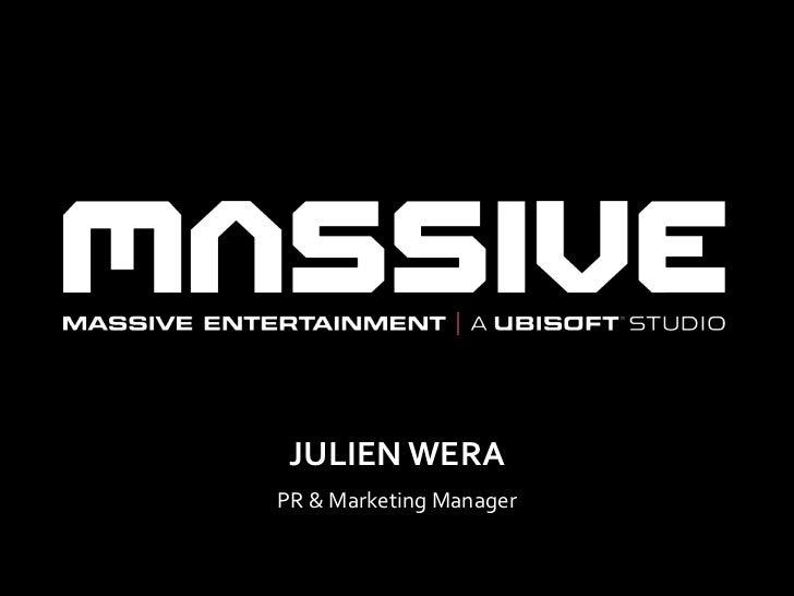 JULIEN WERAPR & Marketing Manager                         2012-02-17   1