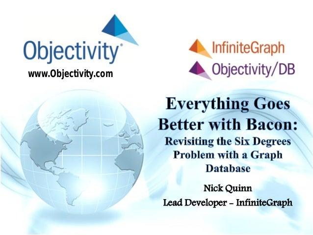 www.Objectivity.comNick QuinnLead Developer - InfiniteGraph