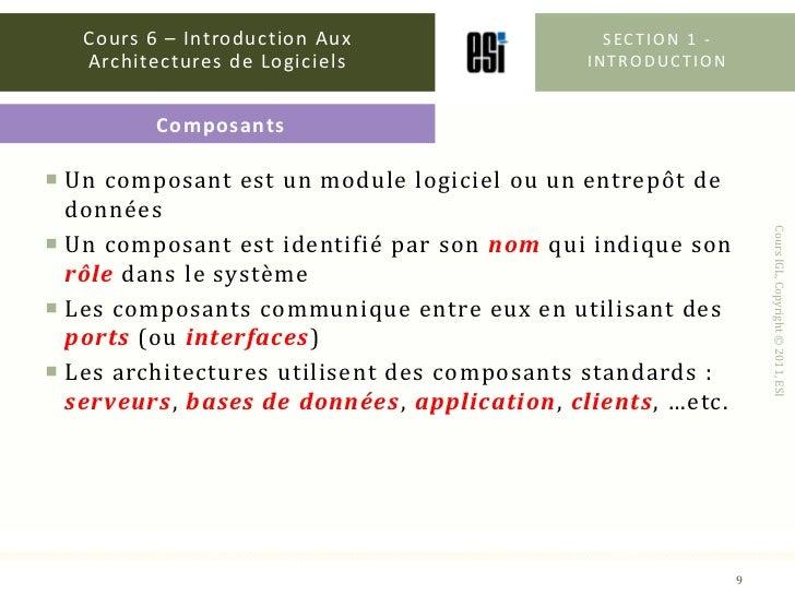 g nie logiciels introduction aux architectures. Black Bedroom Furniture Sets. Home Design Ideas