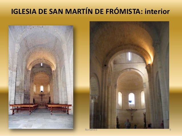 Iglesia rom nica de san mart n de fr mista 1 for Interior iglesia romanica
