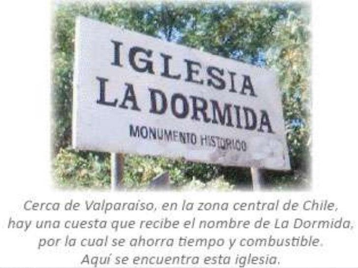 """La Iglesia dormida"""