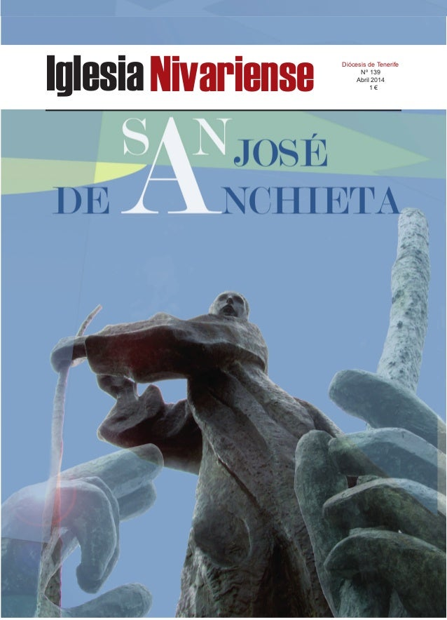 IglesiaNivariense Diócesis de Tenerife Nº 139 Abril 2014 1 €