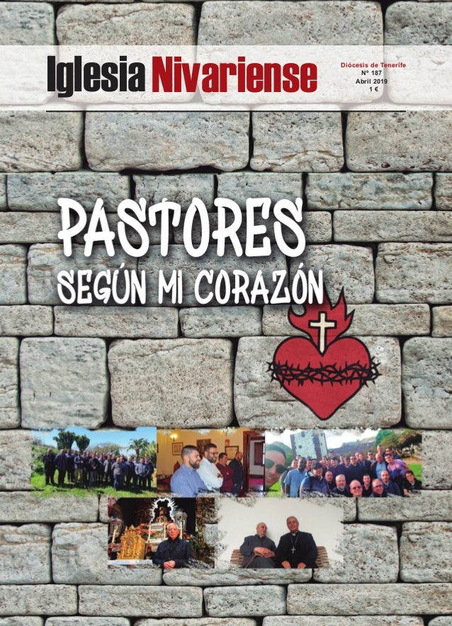 IglesiaNivariense Diócesis de Tenerife Nº 187 Abril 2019 1 €