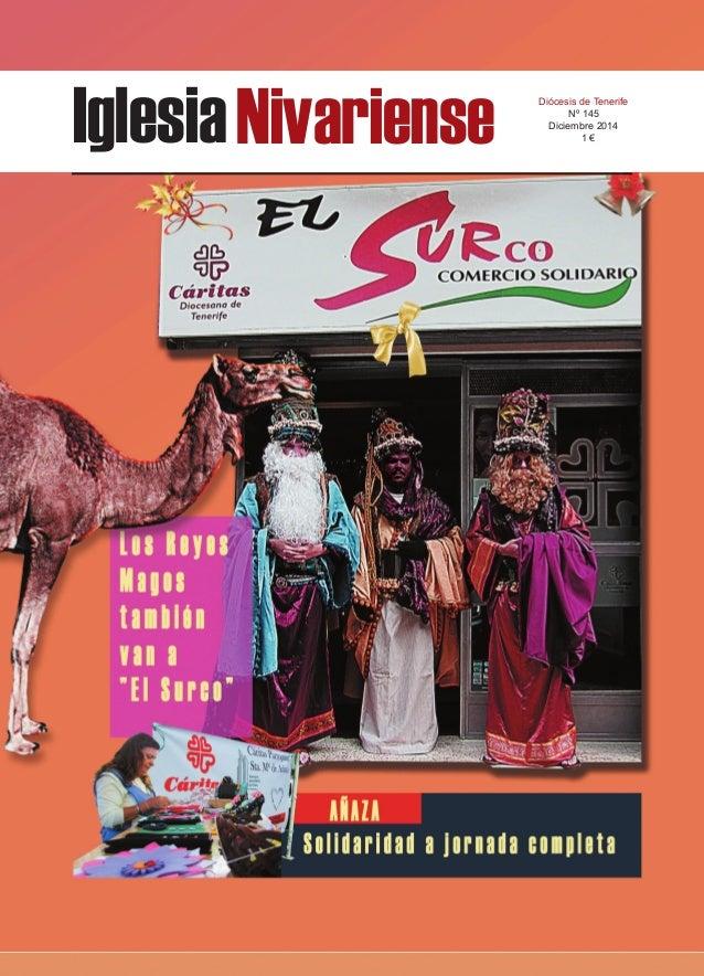IglesiaNivariense Diócesis de Tenerife Nº 145 Diciembre 2014 1 €