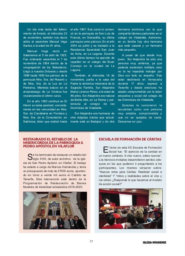 Iglesia nivariense diciembre 16 for Muebles iglesias zafra