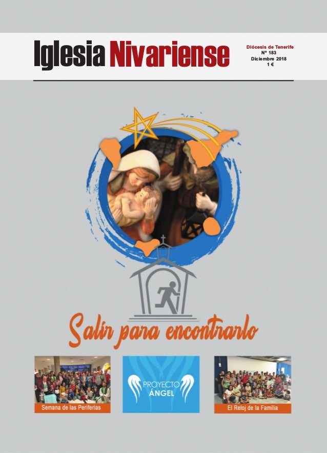 IglesiaNivariense Diócesis de Tenerife Nº 183 Diciembre 2018 1 €