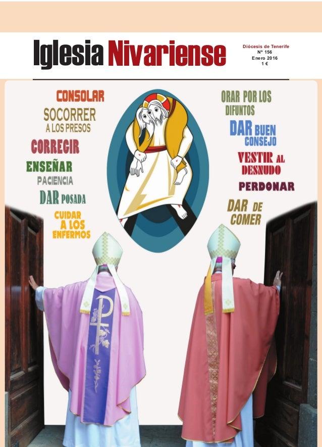 IglesiaNivariense Diócesis de Tenerife Nº 156 Enero 2016 1 €