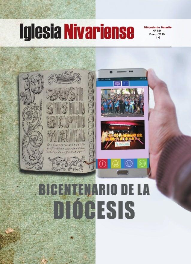 IglesiaNivariense Diócesis de Tenerife Nº 184 Enero 2019 1 €