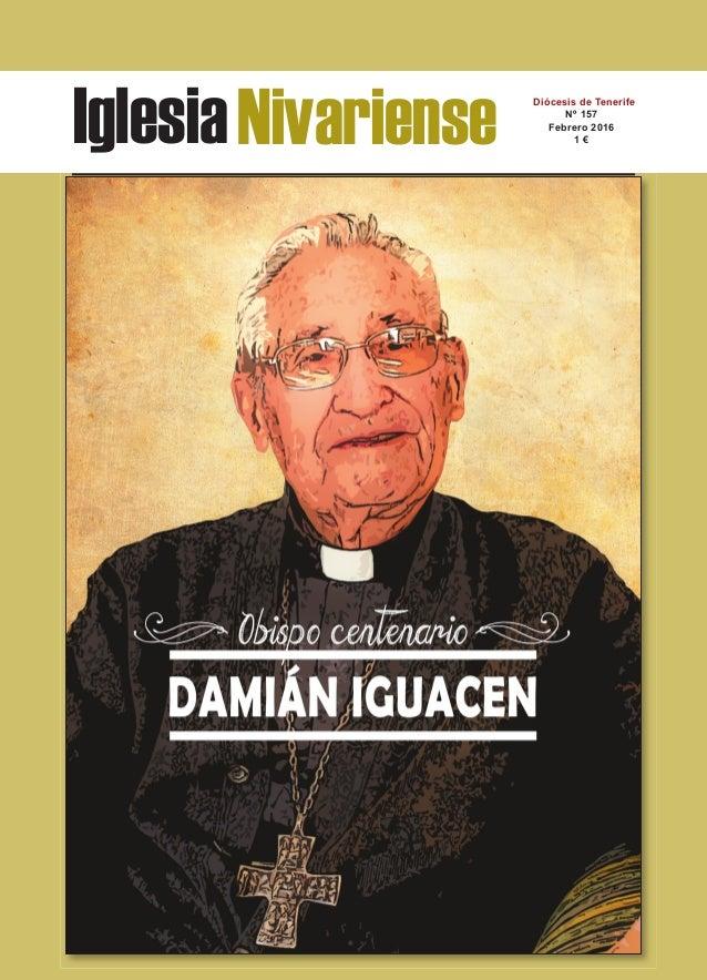 IglesiaNivariense Diócesis de Tenerife Nº 157 Febrero 2016 1 €