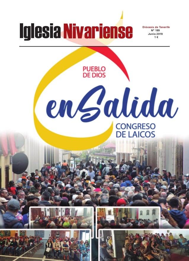 IglesiaNivariense Diócesis de Tenerife Nº 189 Junio 2019 1 €