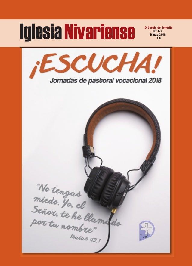 IglesiaNivariense Diócesis de Tenerife Nº 177 Marzo 2018 1 €