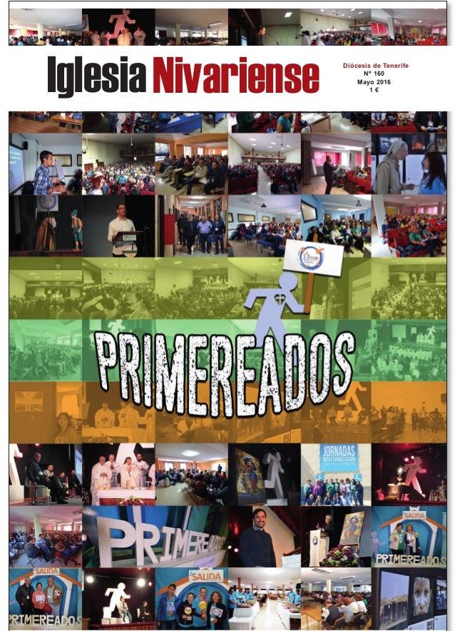 IglesiaNivariense Diócesis de Tenerife Nº 160 Mayo 2016 1 €