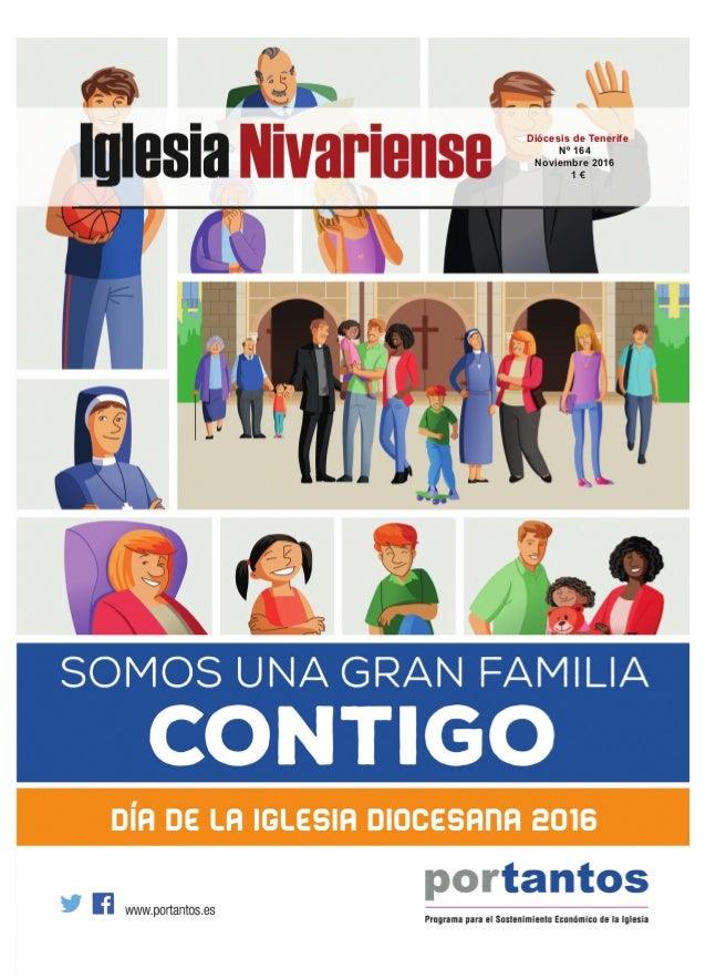 Diócesis de Tenerife Nº 164 Noviembre 2016 1 €