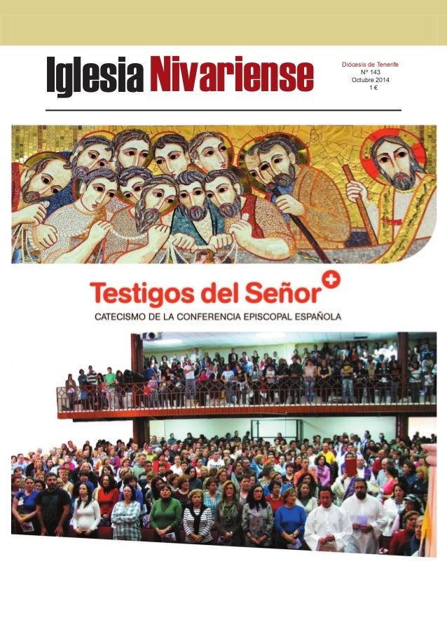 Iglesia Nivariense Diócesis de Tenerife  Nº 143  Octubre 2014  1 €