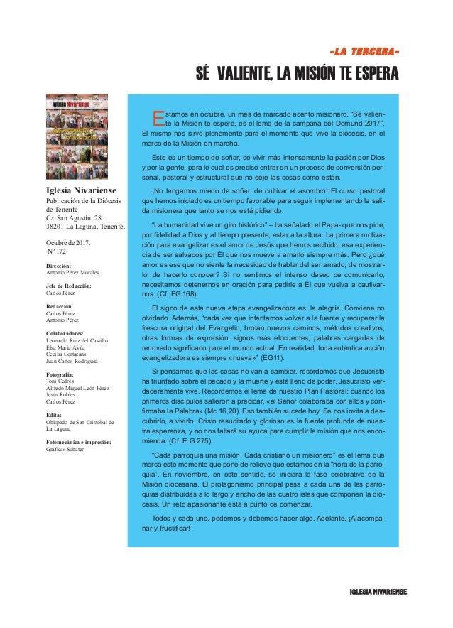 Iglesia Nivariense (Octubre 17) Slide 3