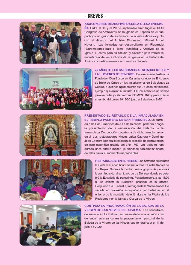 Iglesia Nivariense (Octubre 19) Slide 2