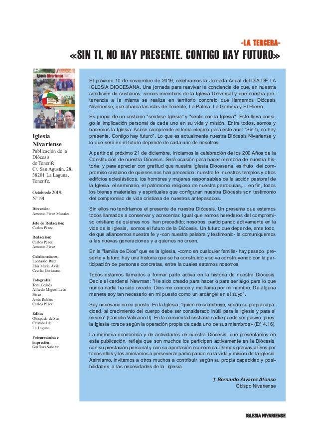 Iglesia Nivariense (Octubre 19) Slide 3
