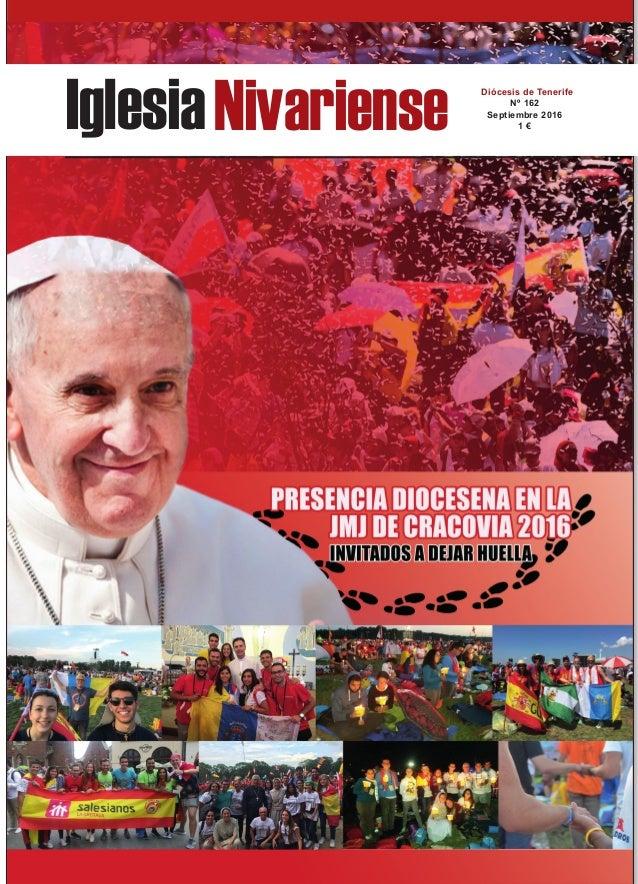 IglesiaNivariense Diócesis de Tenerife Nº 162 Septiembre 2016 1 €