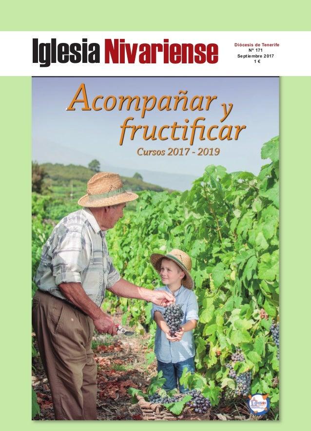 IglesiaNivariense Diócesis de Tenerife Nº 171 Septiembre 2017 1 €