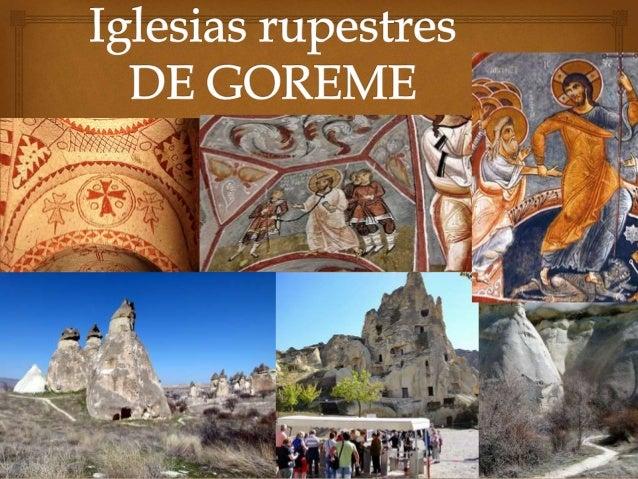  El Museo al Aire Libre de Goreme se asemeja a un complejo monástico compuesto por decenas de monasterios colocados lado ...