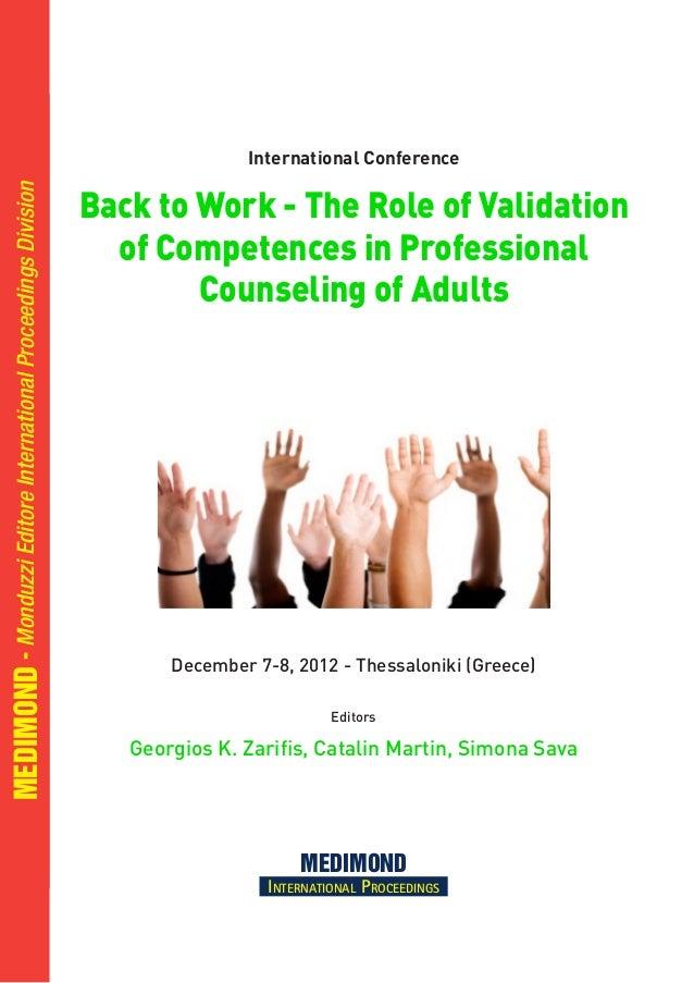 December 7-8, 2012 - Thessaloniki (Greece) Editors Georgios K. Zarifis, Catalin Martin, Simona Sava MEDIMOND International...