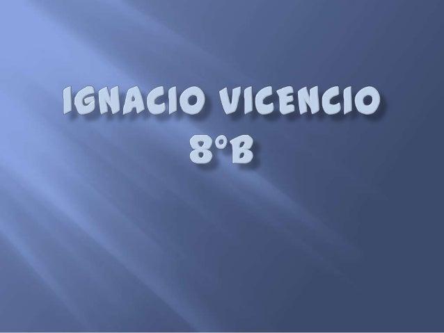 Ignacio vicencio