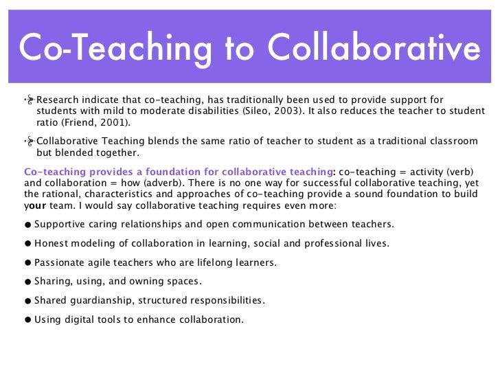 Collaborative Teaching Nz ~ Co teaching