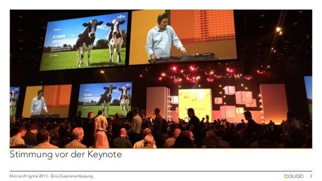 Microsoft Ignite 2015: Zusammenfassung Slide 3