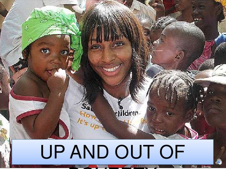 Up and out of POVERTY<br />