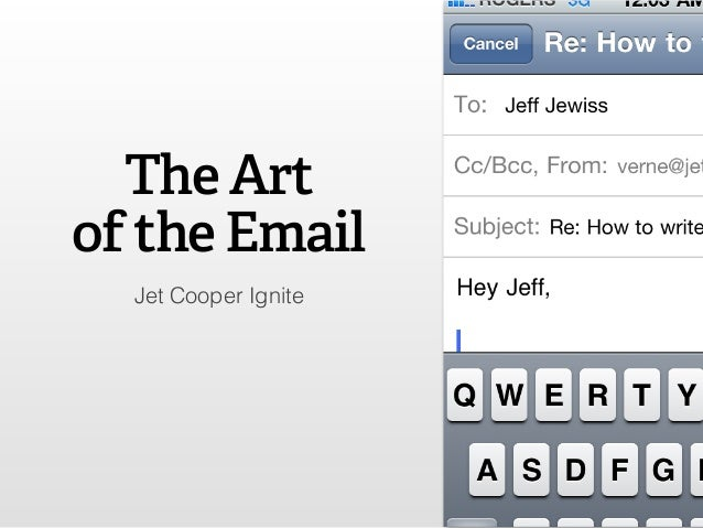 Jet Cooper Ignite The Art of the Email