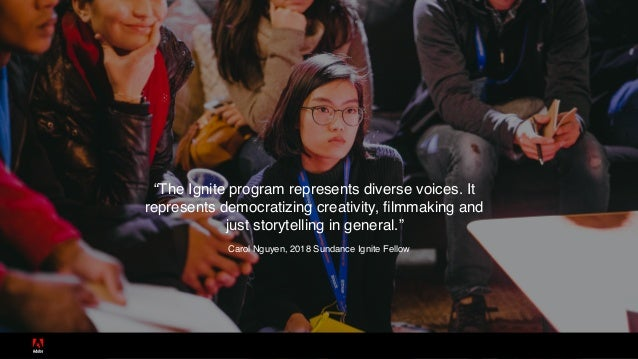 Sundance Ignite Fellows Slide 2