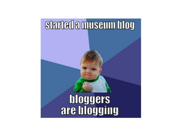 Ignite MCN: Blogging is dead. Long live the museum blog.