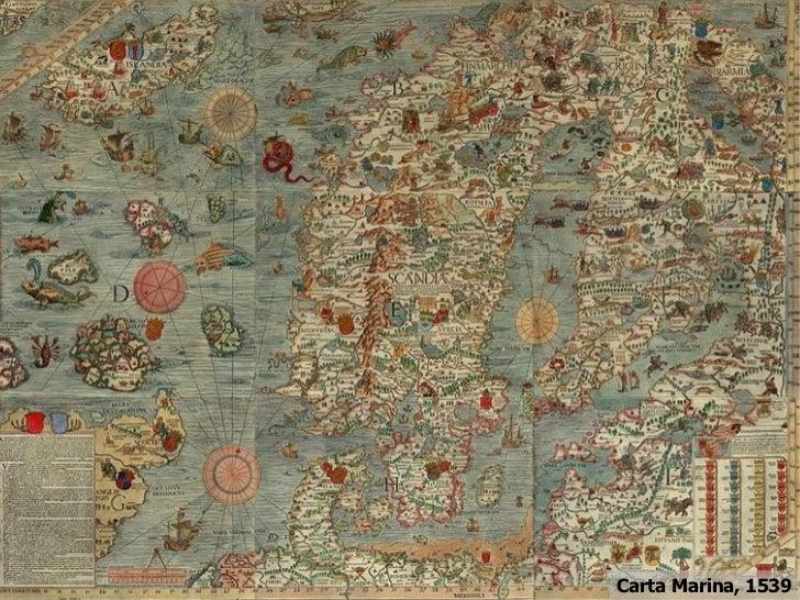 Carta Marina, 1539