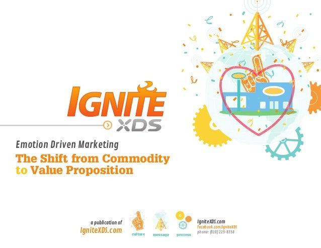 IgniteXDS.comfacebook.com/IgniteXDSphone: (810) 225-8350a publication ofIgniteXDS.comEmotion Driven MarketingThe Shift fro...