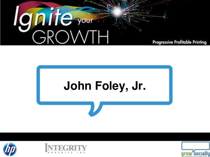 John Foley, Jr.<br />