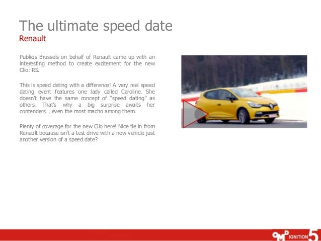 speed dating test drive