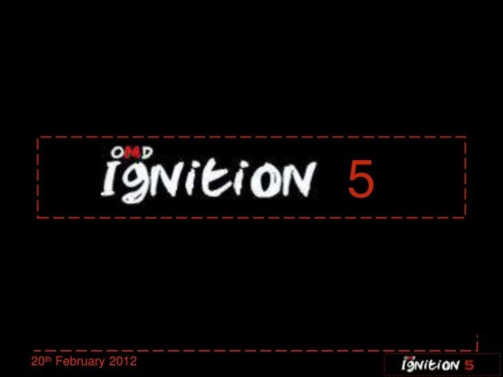 520th February 2012