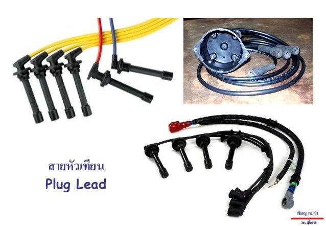 Plug Leadสายหัวเทียนพิษณุ คมขําวท.สุโขทัย